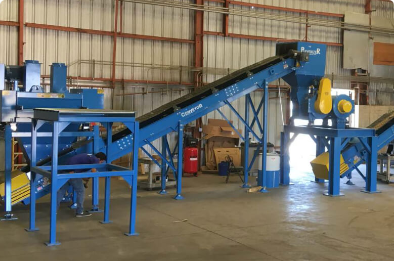 Laminated Glass Recycling